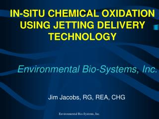 Environmental Bio-Systems, Inc.