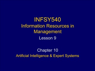 INFSY540 Information Resources in Management