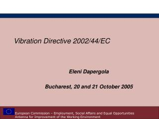 Vibration Directive 2002
