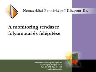 A monitoring rendszer folyamatai  s fel p t se