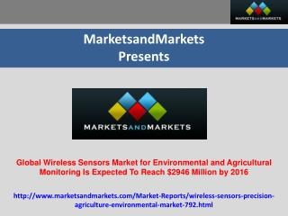 Wireless Sensors Market