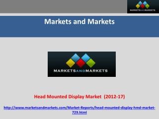 Head Mounted Display (HMD, Helmet Mounted Display, Head Moun