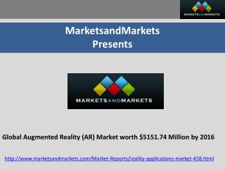 Augmented Reality Market (Virtual Reality)