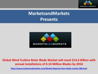 Global Wind Turbine Rotor Blade Market worth $14.6 Billion b