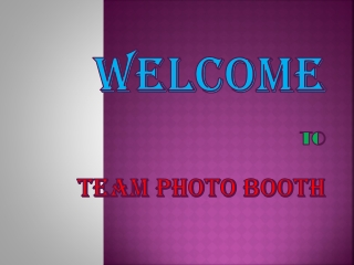 Why Opt for Photo Booth for Wedding