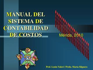 manual del sistema de contabilidad de costos