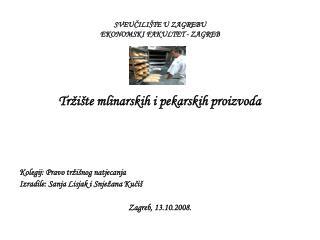 SVEUCILI TE U ZAGREBU EKONOMSKI FAKULTET - ZAGREB