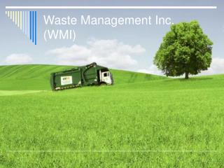 Waste Management Inc. WMI