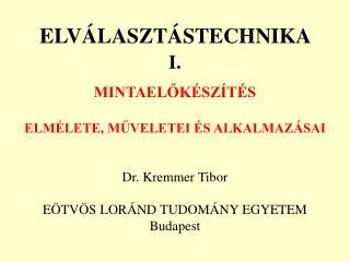 ELV LASZT STECHNIKA  I.