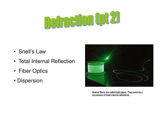 Refraction pt 2