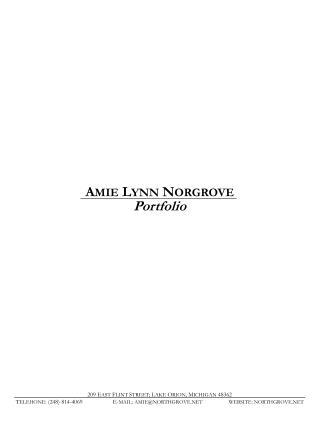 AMIE LYNN NORGROVE