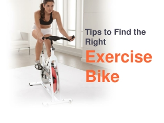 Tips to Find the Right Exercise Bike in Australia