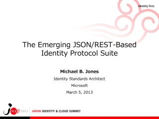 The Emerging JSON