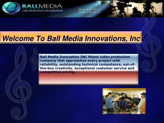 Ball Media video production company