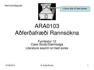 ARA0103  A fer afr  i Ranns kna