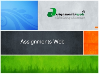 Popularity of the assignment writing service is growing ever