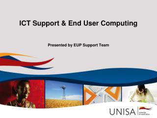 ICT Support  End User Computing