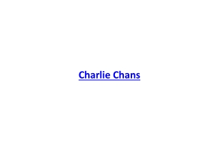 Charlie Chans