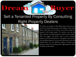 Sell A Tenanted Property Uk