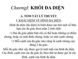 ChuongI: KHI  A DIN