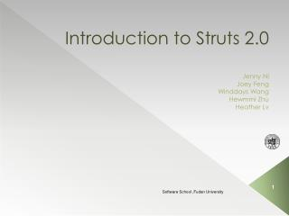 Introduction to Struts 2.0