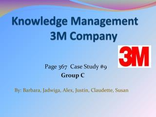 Knowledge Management                3M Company