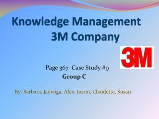 Knowledge Management                3M Company