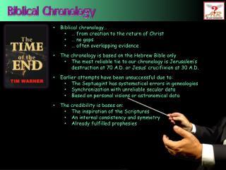 Biblical Chronology