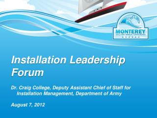 Installation Leadership Forum