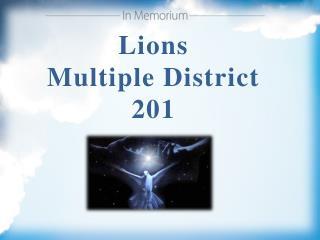 Lions Multiple District 201