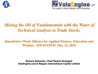 Mixing the Oil of Fundamentals with the Water of Technical Analysis to Trade Stocks   Quantitative Work Alliance for App