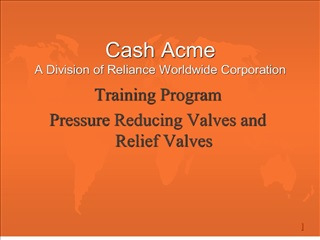 cash acme a division of reliance worldwide corporation