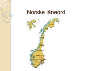 Norske l neord