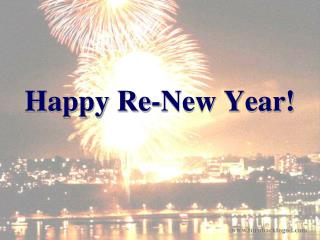 Happy Re-New Year