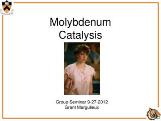 Molybdenum Catalysis