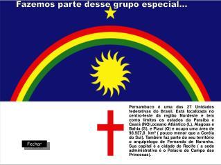 Pernambuco   uma das 27 Unidades federativas do Brasil. Est  localizada no centro-leste da regi o Nordeste e tem como li