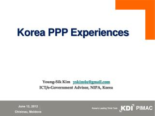 Korea PPP Experiences