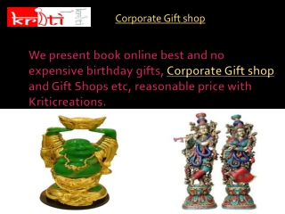 Corporate Gift shop
