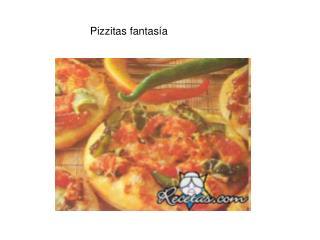 Pizzitas fantas a
