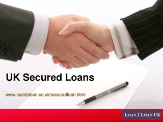 Get the lowest rates on your secured loan