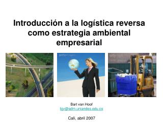 Introducci n a la log stica reversa como estrategia ambiental empresarial