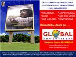 Kokilaben Hospital Outdoor Media Advertising