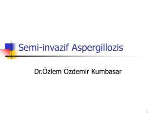 Semi-invazif Aspergillozis
