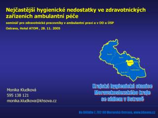 Zdravotnick  zar zen  na  zem  mesta Ostravy