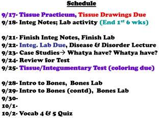 Schedule  9