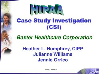 Case Study Investigation CSI