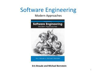 Software Engineering  Modern Approaches