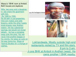 Subject: FW: The Beggars of Mumbai...