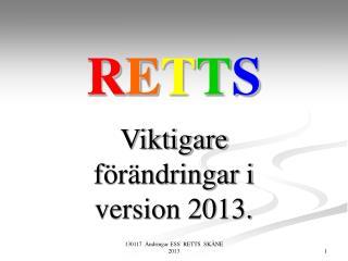 RETTS