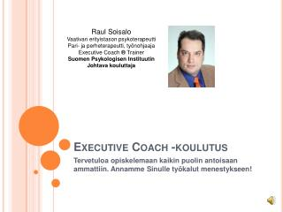 Executive Coach -koulutus
